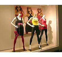 Three Mannequins Photographic Print