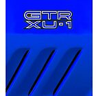 GTR XU-1 Holden Torana Blue iPhone case by Clintpix