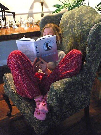 """ Cozy Reader "" by waddleudo"