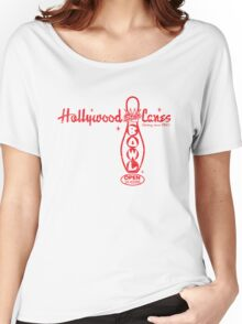 Hollywood Star Lanes Women's Relaxed Fit T-Shirt