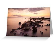 Makena Sunset Greeting Card
