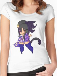 Chibi Gals 2 Women's Fitted Scoop T-Shirt