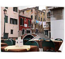 Ponte de la chiesa, Venice - Italy Poster