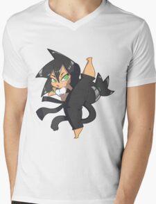 Chibi Gals 7 Mens V-Neck T-Shirt