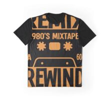 REMIX, REWIND Graphic T-Shirt