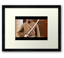 Ready to Fight Framed Print