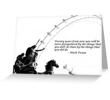 Twenty Years From Now... Greeting Card