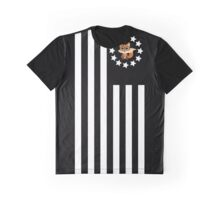 Fox Nerd - Flag Graphic T-Shirt