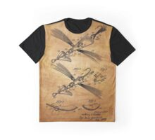 Fish Lure Patent 1933 Graphic T-Shirt
