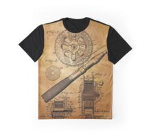 Fishing Reel Patent 1906  Graphic T-Shirt