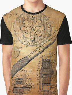 Fishing Reel Patent 1906  Graphic T-Shirt