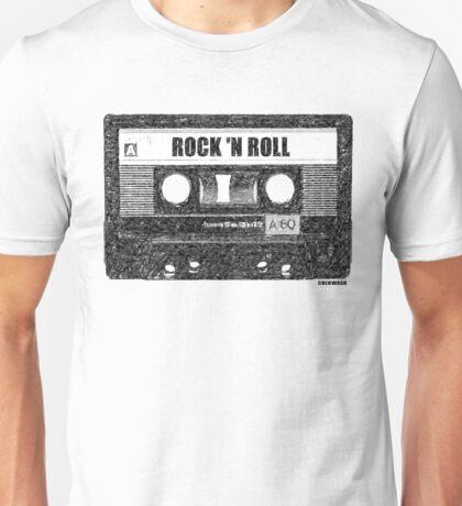 ROCK n' ROLL CASSETTE Unisex T-Shirt