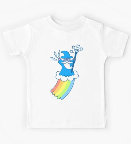 Rainbow Wizard Kids Tee