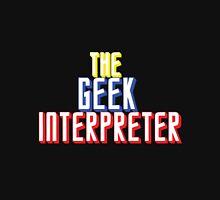 The Geek Interpretor  Womens Fitted T-Shirt