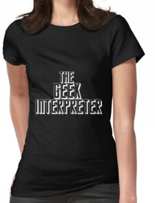 The Geek Interpretor (White) T-Shirt