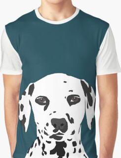 Ryan - Dalmatian Dog Print for Dog Lover, Pet Owner Graphic T-Shirt