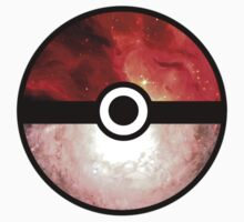 Galaxy Pokeball Baby Tee