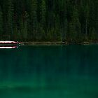 Lake Louise early morning by Margaret Metcalfe