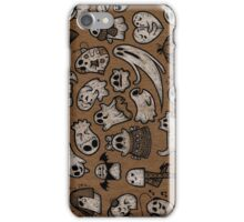 Sheet of GHOSTS iPhone Case/Skin