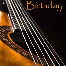 Guitar Birthday Card by JEZ22