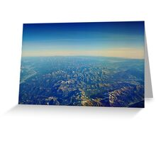 Wild Alps Greeting Card