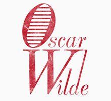 Oscar Wilde Red Unisex T-Shirt