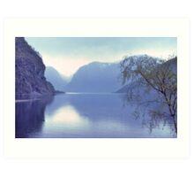 Norwegian Fiord. Art Print