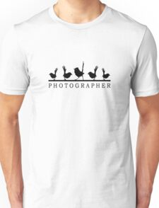 Bird Photographer Tee #2 Unisex T-Shirt