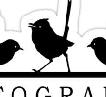 Bird Photographer Tee #2 Sticker
