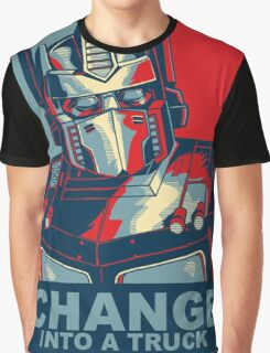 Optimus Prime - Change Graphic T-Shirt