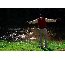 Lay down your burdens down by the riverside Photographic Print