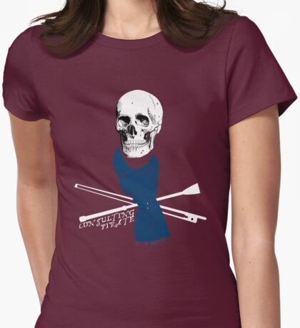 Consulting Pirate Womens Fitted T-Shirt