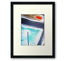 erection collection 6 Framed Print