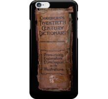 Chamber's Twentieth Century Dictionary - iPhone Case iPhone Case/Skin