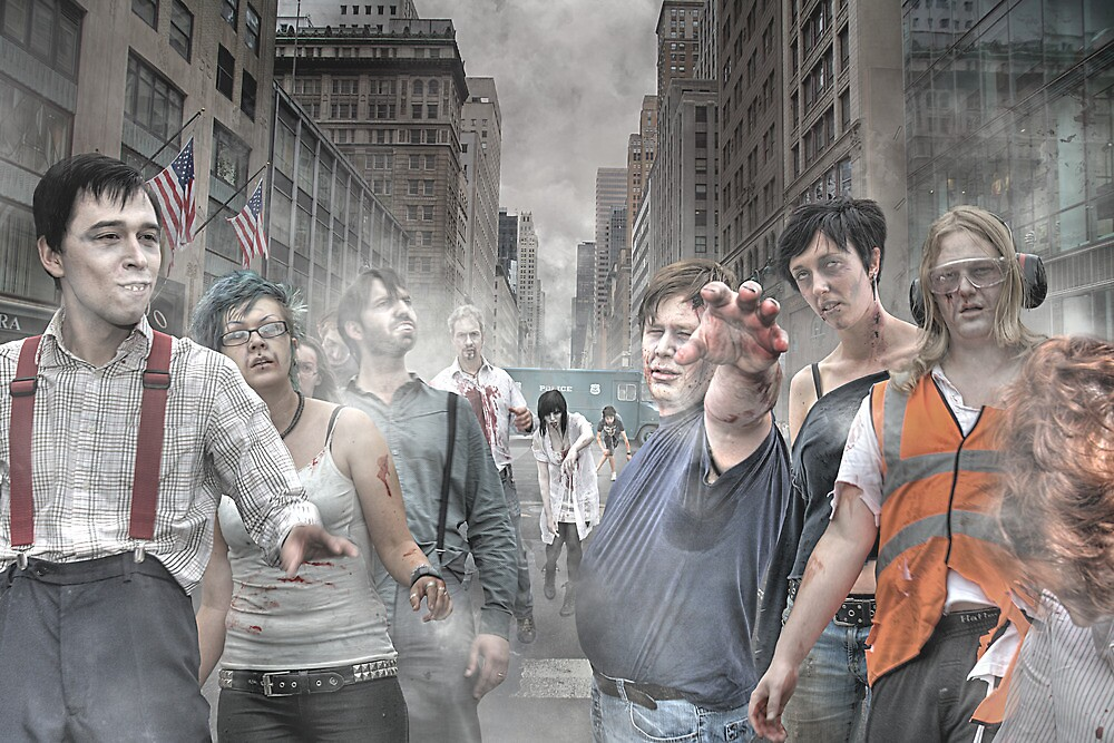 Rise of the Zombies by Adrian Richardson