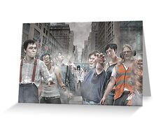 Rise of the Zombies Greeting Card