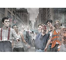 Rise of the Zombies Photographic Print