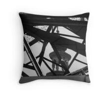 architecture evolves Throw Pillow