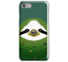 Sloth buggy - green iPhone Case/Skin