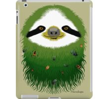 Sloth buggy - green iPad Case/Skin