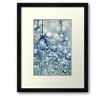 Sparkling Dandy in Blue Framed Print