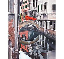 The Blood of Venice Photographic Print