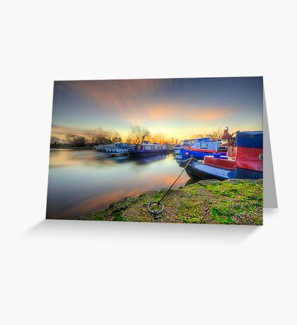 Barrow Sunrise In Motion 2.0 Greeting Card