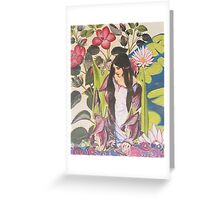 A Lady of Shallott Greeting Card