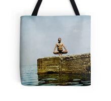 Yoga by the sea Tote Bag