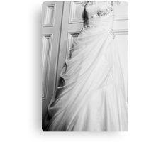 The Hanging Wedding Dress Canvas Print