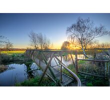 Narrow Iron Bridge Photographic Print