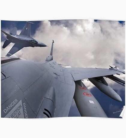 F-16 Composit Poster