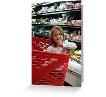 Supermarket Greeting Card
