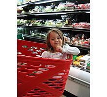 Supermarket Photographic Print